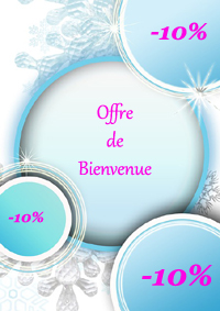 Créez votre compte Beauté et bénéficier de -10% sur votre 1ère commande, avec le code Bienvenue10