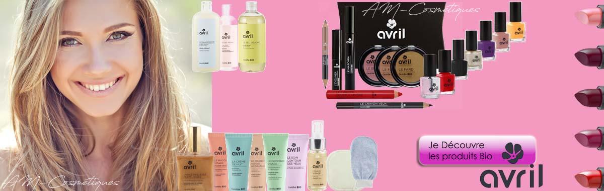 Je découvre toute la gamme de produits cosmétiques AVRIL