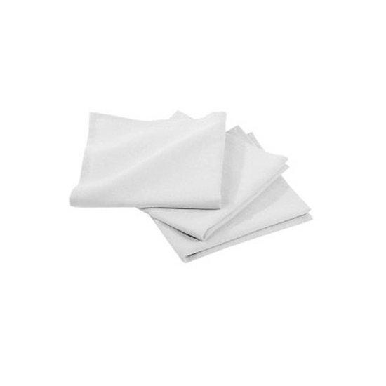 Carré de Serviette éponge Pur Coton Blanc 30x30cm pour soins de beauté