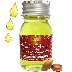 Huile d'Argan Pure et Naturelle désodorisée en 30 ml