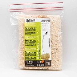 Loofah brut exfoliant naturel et gommage végétal 15cm Allo'Nature