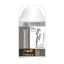 Déodorant régulateur sphère Alun de potassium en 50ml - Allo'Nature Homme