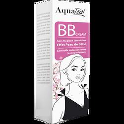 BB Cream soin magique zéro défaut unifie teint, touché soyeux Aquatéal