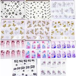 Stickers pour décoration Ongles Nail Art Motifs au choix 3D Nail Seal