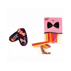 Canne décoration pour ongles lot 6 bâtons spécial nail art Yes Love
