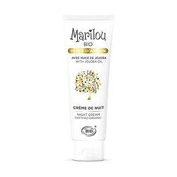 Crème de Nuit Argan en 50ml peau douce et éclatante Marilou Bio