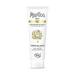 Crème de Jour à l'Huile d'Argan en 50ml peau hydratée Marilou Bio
