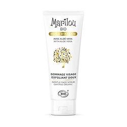 Gommage visage huile argan exfoliant doux en 75ml Marilou Bio