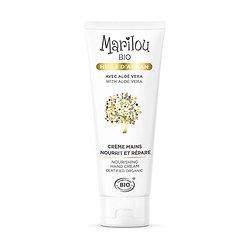Crème Mains huile Argan en 75ml nourrit et répare Marilou Bio