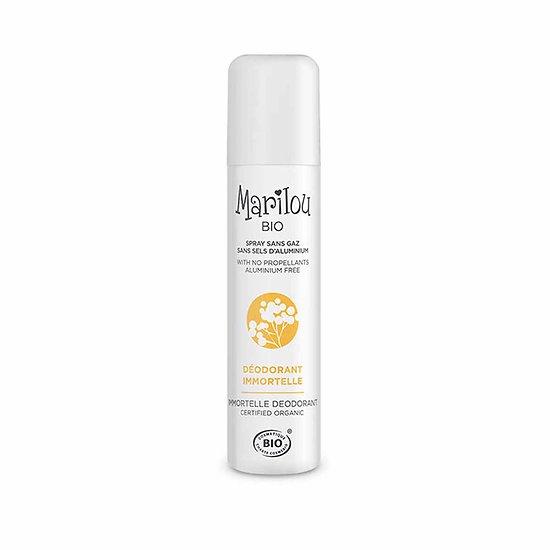 Déodorant Immortelle spray sans gaz 75ml actif naturel Marilou Bio