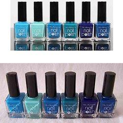 Vernis à ongles Camaïeu de Bleu tendance pour ongles Yesensy