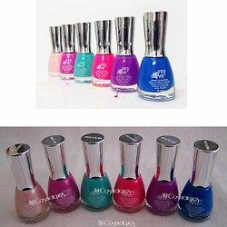 Vernis à Ongles pastel en rose, fushia, violet, bleu, vert Yes Love