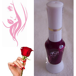 Stylo Nail Art Aubergine vernis à ongles dessins sur ongles - Yes Love