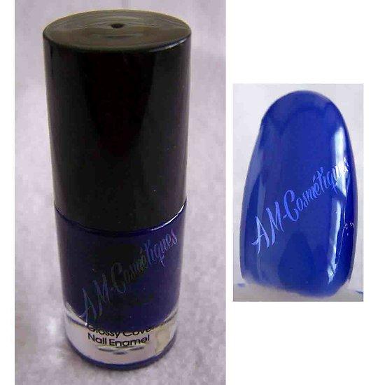 Vernis à Ongles Bleu Glossy Cover Nail Enamel fashion Bell