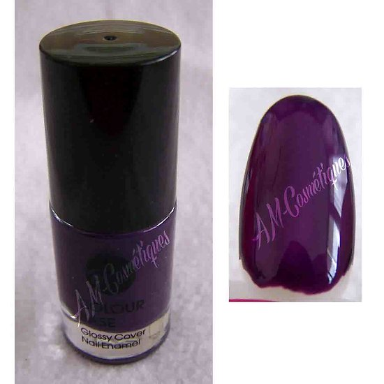 Vernis à Ongles Violet Glossy Cover Nail Enamel fashion Bell