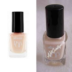 Vernis à ongles Rose Naturel 04 couleur intense brillance Miss Cop