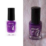 Vernis à ongles Violet 10 concentré brillance pour ongles Miss Cop
