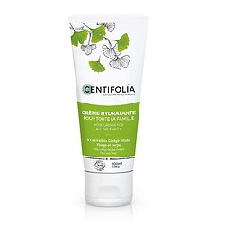 Crème hydratante visage et corps Bio 100ml au Ginkgo Biloba Centifolia
