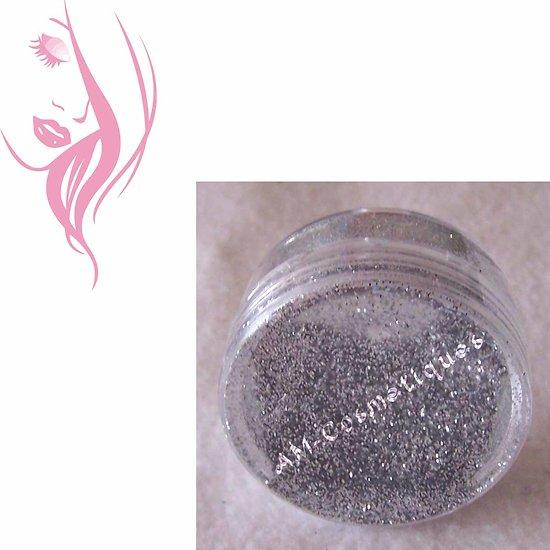 Paillettes cosmétiques Argent pour maquillage, nail art, tatouage