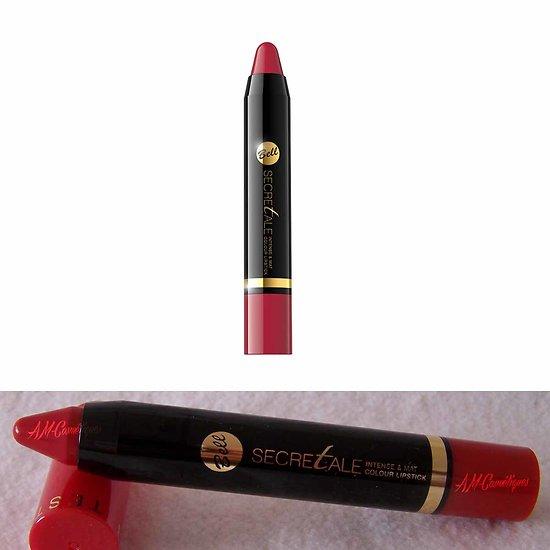 Rouge à lèvres Rouge 02 crayon couleur intense mat secretale Bell