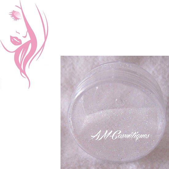 Paillettes cosmétiques Blanc Givré tattoo, nail art, maquillage
