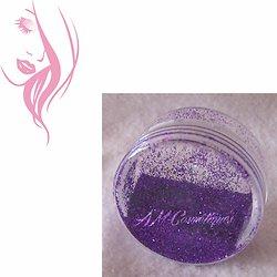 Paillettes cosmétiques Violet nail art, maquillage, tattoo temporaire