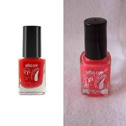 Vernis à ongles Orange Délice 06 concentré de brillance Miss Cop