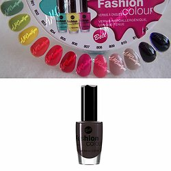 Vernis à Ongles Anthracite 811 colour hypoallergénique Bell