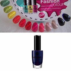 Vernis à Ongles Bleu 812 Fashion Colour hypoallergénique Bell