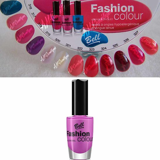 Vernis à Ongles Rose 318 Fashion Colour hypoallergénique Bell