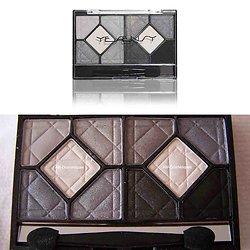 Ombre à paupières Gris palette 10 fards blanc, gris, noir Yesensy