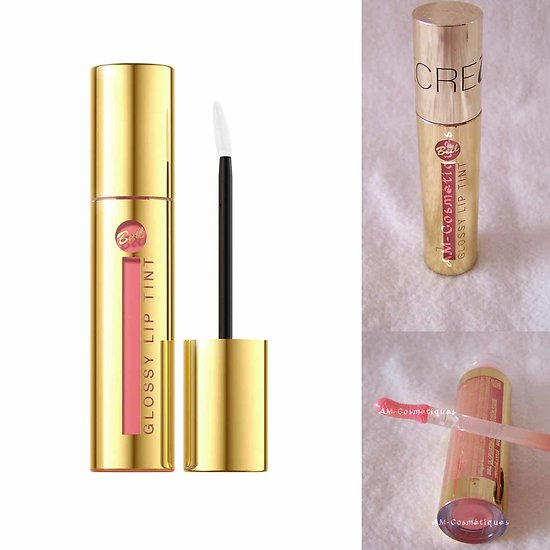 Gloss Rose 02 brillant à lèvres Glossy Lip Tint couleur intense Bell