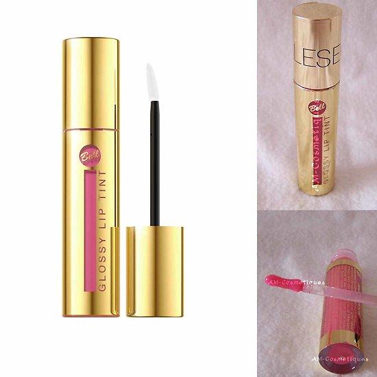 Gloss Rose Foncé 03 brillant à lèvres Glossy Lip Tint intense Bell