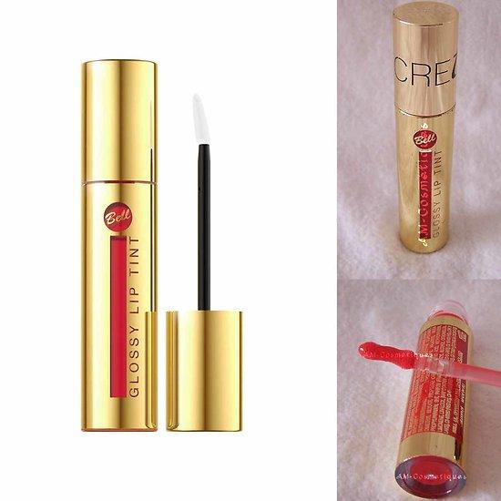 Brillant à lèvres Rouge 05 Glossy Lip Tint Secretale intense Bell