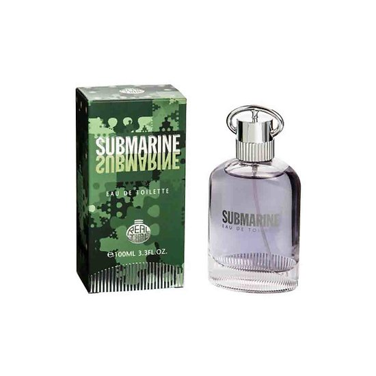Eau de Toilette pour Hommes Submarine en spray de 100ml Real Time