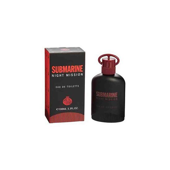 Eau de Toilette Homme Submarine Night Mission spray en 100ml Real Time