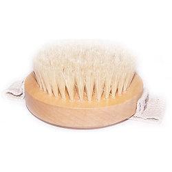 Brosse Gommage Spécial Corps avec anse à poils doux et effet relaxant