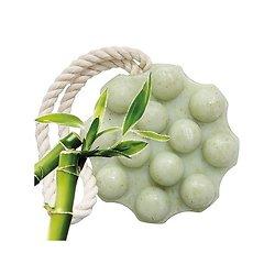 Savon de Massage Exfoliant Exfoliant Poudre de Bambou en 150 g