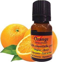 Huile Essentielle d'Orange en 10 ml