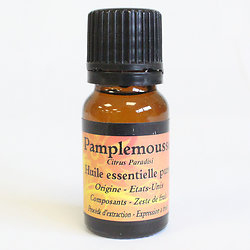 Huile Essentielle de Pamplemousse en 10ml un effet tonique sur la peau