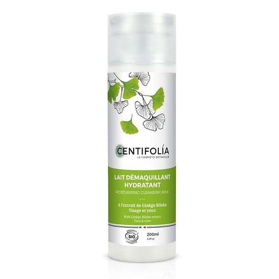 Lait démaquillant hydratant visage et yeux Bio en 200ml Centifolia