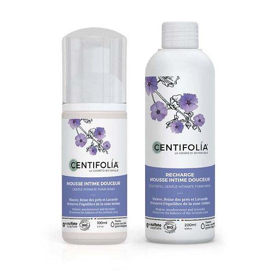 Mousse Intime douceur Bio en 100ml confort et protection Centifolia