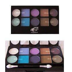 Palette ombres à paupières 10 fards pour yeux colorés Yes Love