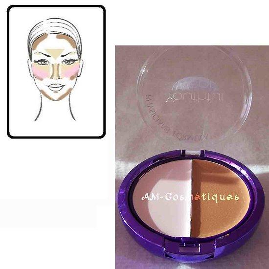 Anti-cernes et illuminateur crème Rose couvre les taches Leticia Well