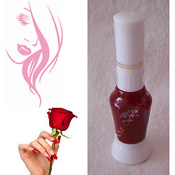 Stylo nail art Bordeaux vernis pour dessins sur ongles Yes Love