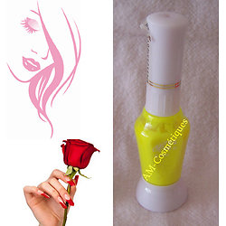Stylo Nail Art Jaune Citron vernis pour dessins sur ongles - Yes Love
