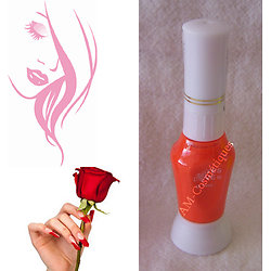 Stylo Nail Art Orange Intense vernis dessins sur ongles Yes Love