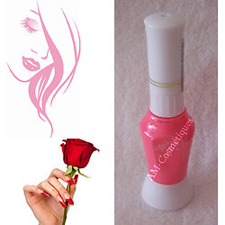 Stylo nail art Rose bonbon vernis pour dessins sur ongles Yes Love