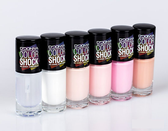 Vernis à Ongles Color Shock gamme Rose - D'Donna