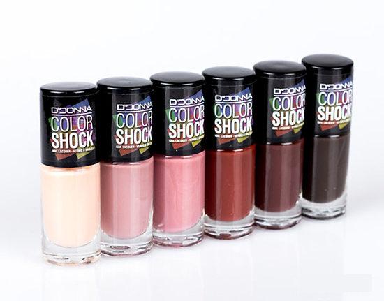 Vernis à Ongles Color Shock gamme Marron - D'Donna